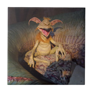 "Alien Small (4.25"" x 4.25"") Ceramic Photo Tile"