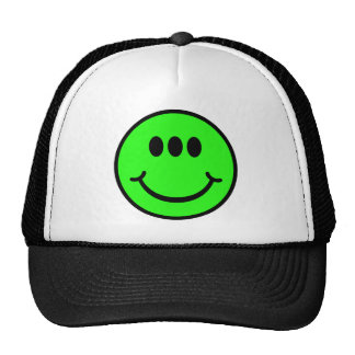Alien Smiley - 3 Eyes Trucker Hat