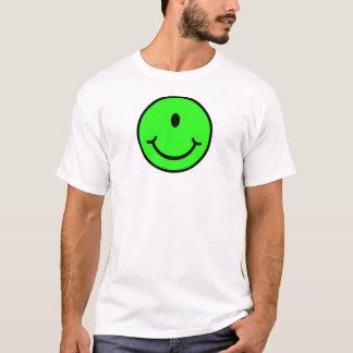 Alien Smiley - One Eye T-Shirt
