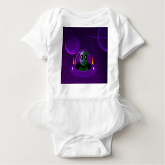 Alien space baby bodysuit