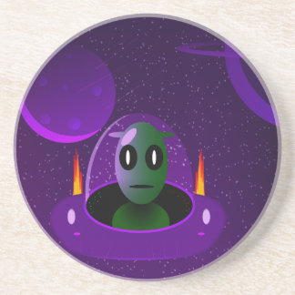 Alien space coaster