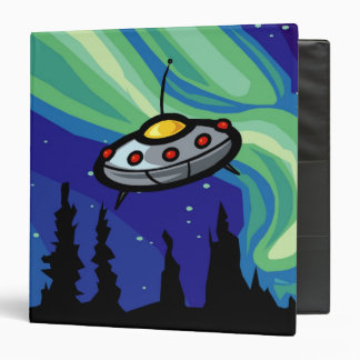 Alien Spaceship Binder