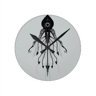 Alien Squid Monster Clocks