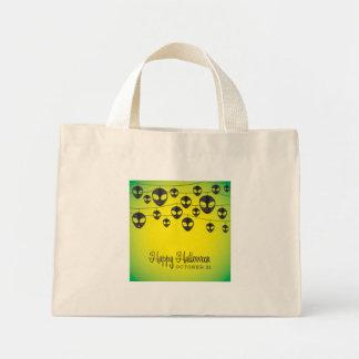 Alien string mini tote bag