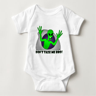 ALIEN TAZE-6 BABY BODYSUIT
