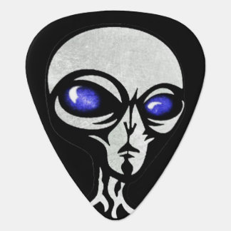 Alien, The Grey Guitar Pick