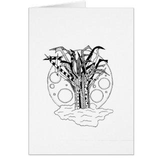 Alien Tree Card