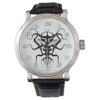 Alien Tribal Tattoo Species 273 black and white Watch