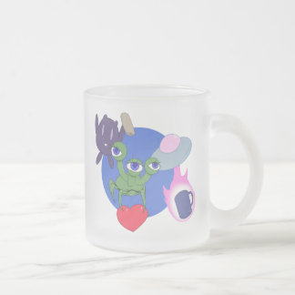 Alien Trio Good Morning Mug