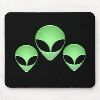 Alien Trio Mouse Pad