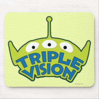 Alien Triple Vision Mouse Pad