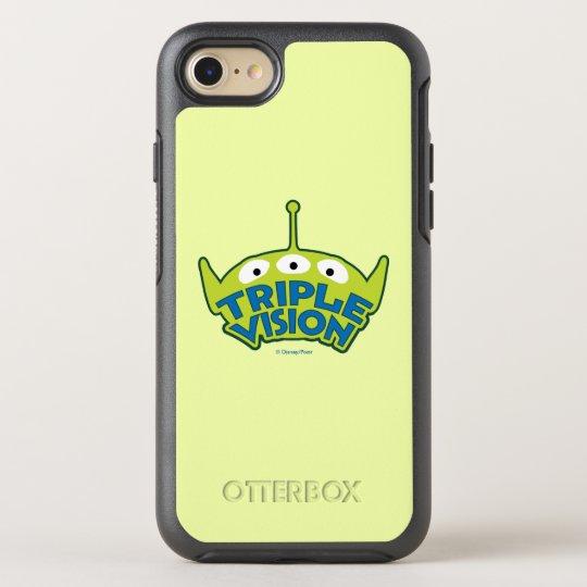 Alien Triple Vision OtterBox Symmetry iPhone 7 Case