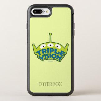 Alien Triple Vision OtterBox Symmetry iPhone 8 Plus/7 Plus Case