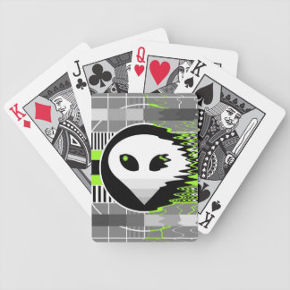 Alien TV playing cards