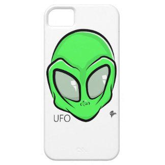 Alien UFO Extraterrestrial Cartoon GFX iPhone 5 Case