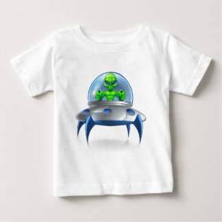 Alien UFO Flying Saucer Baby T-Shirt