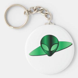 Alien UFO Keychain