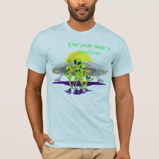 Alien Vacation T-Shirt