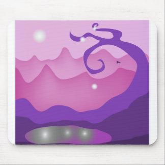 Alien view mouse pad