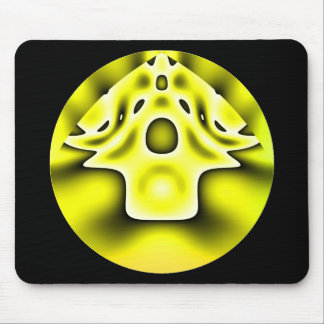 Alien village mouse pad
