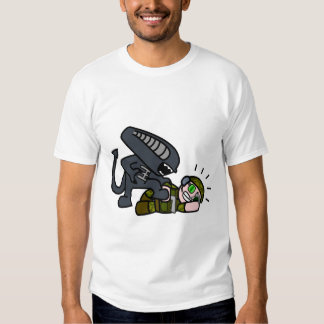 Alien vs Soldier 2 Tshirt