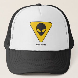 Alien watcher number 1 trucker hat