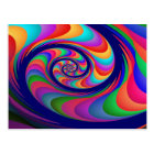 Alien Waves 2 Fine Fractal Art Postcard