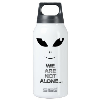 Alien-We Are Not Alone Insulated Water Bottle