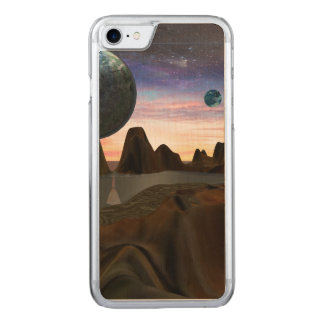 Alien World Carved iPhone 8/7 Case