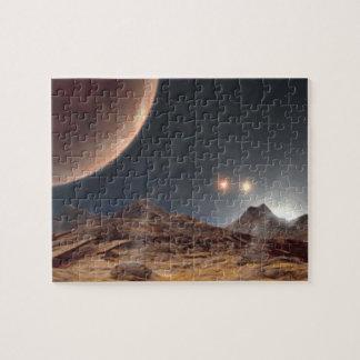 Alien World Jigsaw Puzzle