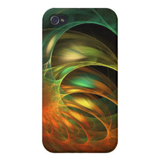 Alien Worm Cocoon Fractal Cover For iPhone 4
