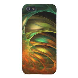 Alien Worm Cocoon Fractal iPhone 5 Cases