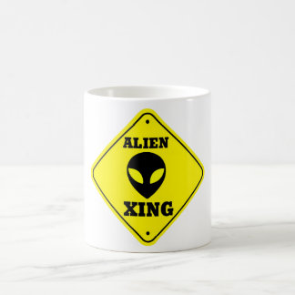 alien xing coffee mug