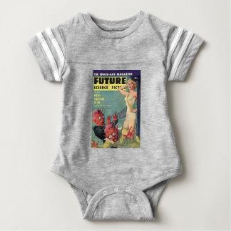 Aliens and Beauty Queen Baby Bodysuit