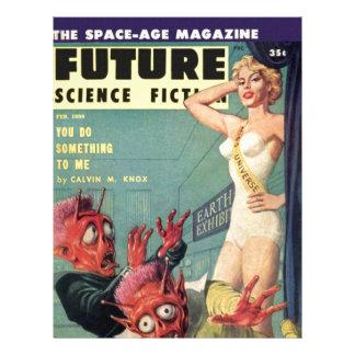 Aliens and Beauty Queen Letterhead