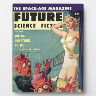 Aliens and Beauty Queen Plaque