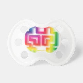 Aliens' aren't Gray - they're Rainbow ! Pacifier