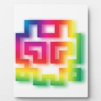 Aliens' aren't Gray - they're Rainbow ! Plaque
