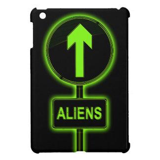 Aliens concept. iPad mini cases