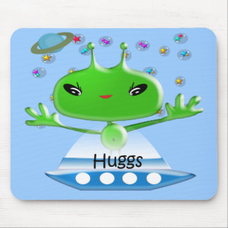 Aliens Huggs Gifts & Promotional Products T-shirts Mouse Mats