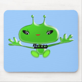 Aliens Huggs Mouse Pad