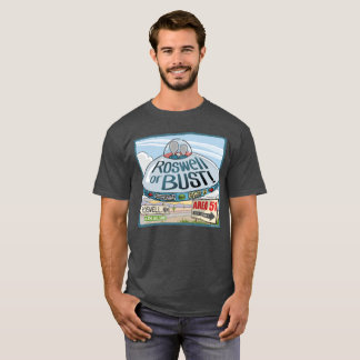 Aliens in a UFO to Roswell T-Shirt