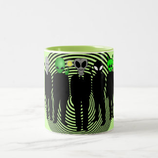 aliens in black mug