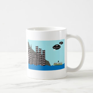 Aliens invvade Hong Kong Coffee Mug