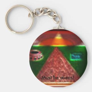 Aliens keychain