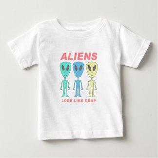Aliens Look Like Crap Baby T-Shirt
