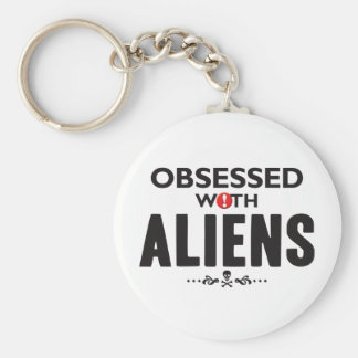 Aliens Obsessed Keychain