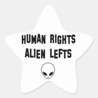 aliens star sticker