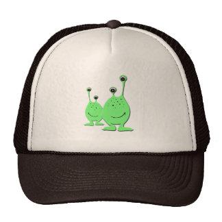 Aliens verts, UFO, petits hommes verts Casquettes De Camionneur