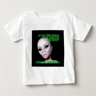 Aliens vs. Donald Trump Baby T-Shirt